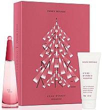 Düfte, Parfümerie und Kosmetik Issey Miyake L'Eau D'Issey Rose & Rose - Duftset (Eau de Parfum 50ml + Körperlotion 100ml)