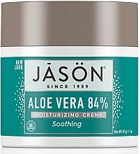 Düfte, Parfümerie und Kosmetik Körper- und Gesichtsfeuchtigkeitscreme mit Aloe Vera - Jason Natural Cosmetics Soothing Aloe Vera Moisturizing Crème