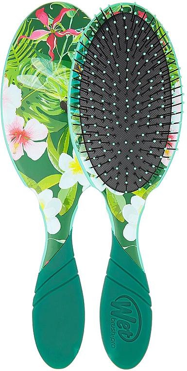 Haarbürste - Wet Brush Pro Detangler Neon Floral Tropics