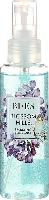 Bi-es Blossom Hills Sparkling Body Mist - Parfümierter Körpernebel mit lichtstreuenden Partikeln