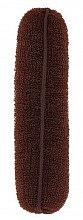 Düfte, Parfümerie und Kosmetik Haarroller 150 mm braun - Lussoni Hair Bun Roll Brown