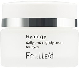 Düfte, Parfümerie und Kosmetik Augenkonturcreme für Tag und Nacht - ForLLe'd Hyalogy Daily And Nightly Cream For Eyes