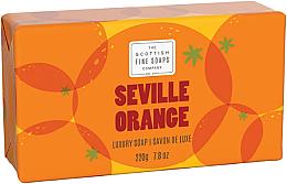 Düfte, Parfümerie und Kosmetik Luxuriöse Seife mit Orange - Scottish Fine Soaps Seville Orange Luxury Wrapped Soap