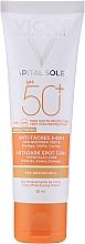 Düfte, Parfümerie und Kosmetik Getönte Sonnen-Pflege Anti-Pigmentflecken SPF 50 - Vichy Ideal Soleil Anti Dark Spot Spf 50
