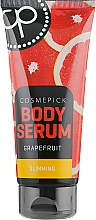 Düfte, Parfümerie und Kosmetik Straffendes Körperserum mit Grapefruit und Ingwer - Cosmepick Body Serum Grapefruit