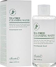 Düfte, Parfümerie und Kosmetik Reinigendes Gesichtswasser mit Teebaumextrakt - Benton Tea Tree Cleansing Water
