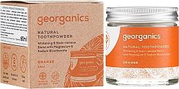 Düfte, Parfümerie und Kosmetik Natürliches Zahnpulver mit roter Mandarine - Georganics Red Mandarin Natural Toothpowder