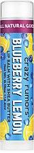 Düfte, Parfümerie und Kosmetik Lippenbalsam mit Blaubeer- und Zitronenduft - Crazy Rumors Blueberry Lemon Lip Balm