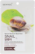 Düfte, Parfümerie und Kosmetik Tuchmaske für das Gesicht mit Schneckenmucin - Eunyul Natural Moisture Mask Pack