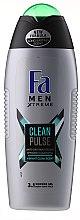 Düfte, Parfümerie und Kosmetik Duschgel für Männer - Fa Men Xtreme Clean Pulse Shower Gel 3in1
