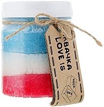 Düfte, Parfümerie und Kosmetik Körperpeeling mit Gummikonsistenz Love Is - Dushka