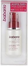 Düfte, Parfümerie und Kosmetik 100% Reines regenerierendes Hagebuttenöl für Körper und Gesicht gegen Dehnungsstreifen - Babaria Rosa Mosqueta Oil