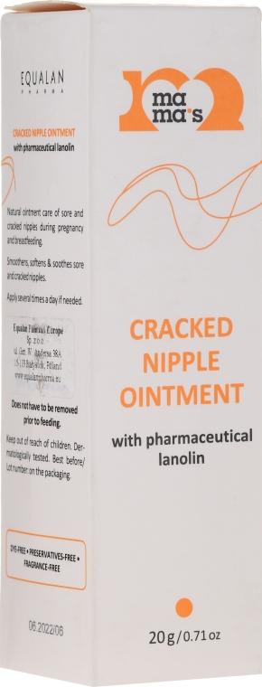 Salbe für rissige Brustwarzen mit Lanolin - Mama's Cracked Nipple Ointment With Pharmaceutical Grade Lanolin