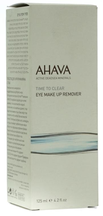 Augen-Make-up-Entferner - Ahava Time To Clear Eye Make Up Remove — Bild N1