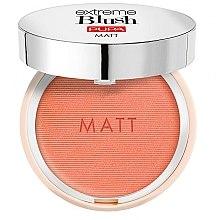 Düfte, Parfümerie und Kosmetik Mattes Gesichtsrouge mit satinartigem Finish - Pupa Extreme Blush Matt