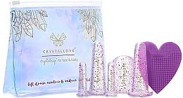 Düfte, Parfümerie und Kosmetik Silikon-Schröpfköpfe für Gesichts- und Körpermassage - Crystallove Crystalcup For Face & Body