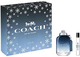 Düfte, Parfümerie und Kosmetik Coach Blue - Duftset (Eau de Toilette 60ml + Eau de Toilette 7.5ml)