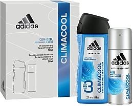 Düfte, Parfümerie und Kosmetik Duftset - Adidas Climacool Men (Deospray 150ml + Duschgel 250ml)