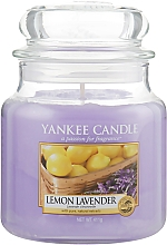 "Düfte, Parfümerie und Kosmetik Duftkerze im Glas ""Lemon Lavender"" - Yankee Candle Lemon Lavender"