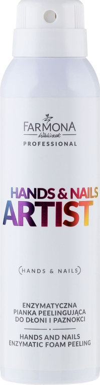 Enzymatisches Hand- und Nagelschaum - Farmona Professional Hands and Nails Artist Enzymatic Foam Peeling