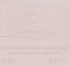 Düfte, Parfümerie und Kosmetik Augenkonturcreme - Givenchy L`Intemporel Global Youth Sumptuous Eye Cream
