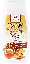 Düfte, Parfümerie und Kosmetik Gel für die Intimhygiene mit Honig und Coenzym Q10 - Bione Cosmetics Honey + Q10 Propolis Intimate Wash Gel