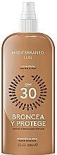 Düfte, Parfümerie und Kosmetik Wasserfeste Sonnenschutzlotion SPF 30 - Mediterraneo Sun Suntan Lotion SPF30