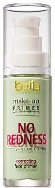 Korrigierende Grundierung gegen Hautrötungen - Delia Cosmetics No Redness Make Up Primer