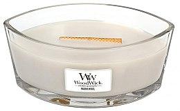 """Düfte, Parfümerie und Kosmetik WoodWick Hearthwick Flame Ellipse Candle Warm Wool - Duftkerze im Glas """"Warm Wool"""""""