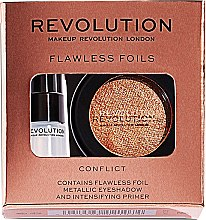 Düfte, Parfümerie und Kosmetik Augenpflegeset (Lidschatten 2g + Augenprimer 2ml) - Makeup Revolution Flawless Foils