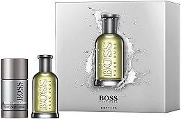 Düfte, Parfümerie und Kosmetik Hugo Boss Boss Bottled - Duftset (Eau de Toilette 50ml + Deostick 75ml)