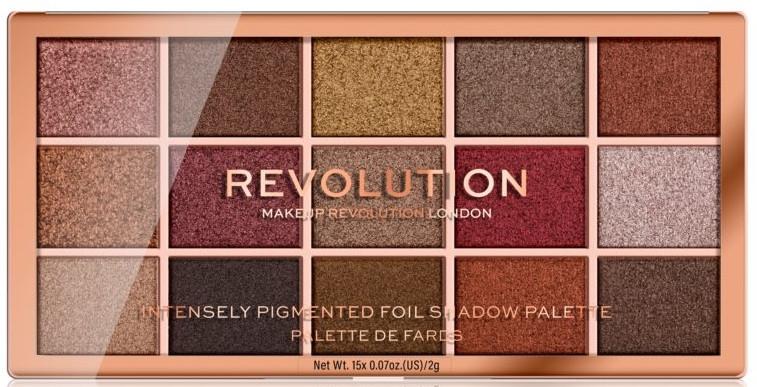 Lidschattenpalette - Makeup Revolution Foil Frenzy Eye Shadow Palette