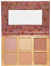 Düfte, Parfümerie und Kosmetik Make-up Palette - Bellapierre Glowing Palette