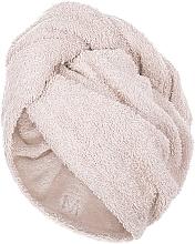 Düfte, Parfümerie und Kosmetik Haarturban beige - MakeUp