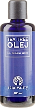 Düfte, Parfümerie und Kosmetik Gesichts- und Körperöl mit Teebaumextrakt - Renovality Original Series Tea Tree Oil