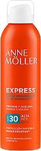 Düfte, Parfümerie und Kosmetik Wasserfestes Körperspray mit Bräunungseffekt SPF 30 - Anne Moller Express Bruma Body Tanning Spray SPF30