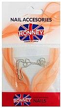 Düfte, Parfümerie und Kosmetik Nageldekoration Kette silber 00376 - Ronney Professional