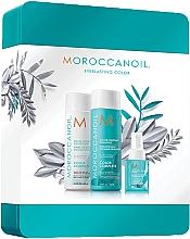 Düfte, Parfümerie und Kosmetik Haarpflegeset - Moroccanoil Color Complete Holiday Set (Shampoo 250ml + Conditioner 250ml + Haarspray 50ml)