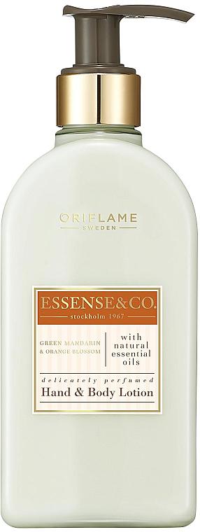 Hand- und Körperlotion mit grüner Mandarine und Orangenblüten - Oriflame Essense & Co.