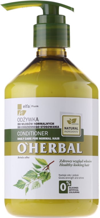 Haarspülung für normales Haar mit Birkenextrakt - O'Herbal Conditioner for normal hair — Bild N3