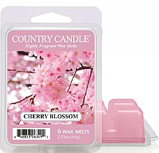 Düfte, Parfümerie und Kosmetik Duftwachs Cherry Blossom - Country Candle Cherry Blossom Wax Melts