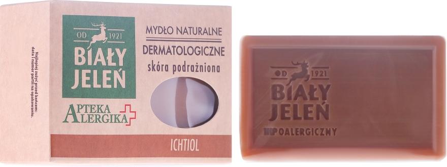Dermatologische Seife mit Ichthyol - Bialy Jelen Apteka Alergika Soap