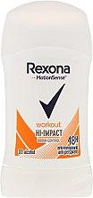 Düfte, Parfümerie und Kosmetik Antiperspirant Deo-Stick Hi-impact, 48H - Rexona Motionsense Workout Hi-impact 48h Anti-perspirant