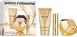 Düfte, Parfümerie und Kosmetik Paco Rabanne Lady Million - Duftset (Eau de Parfum 80ml+Körperlotion 75ml+Eau de Parfum 10ml)