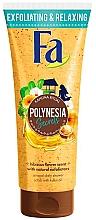 Düfte, Parfümerie und Kosmetik Entspannendes Körperpeeling mit Hibiskusblumenduft - Fa Polynesia Secrets Shower Scrub