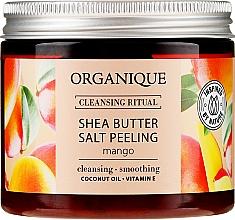 Düfte, Parfümerie und Kosmetik Salzpeeling für den Körper mit Scheabutter und Mangoduft - Organique Shea Butter Salt Peeling Mango