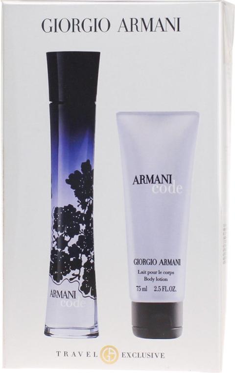 Giorgio Giorgio Armani Armani Code - Duftset (Eau de Parfum 75ml + Körperlotion 75ml) — Bild N6