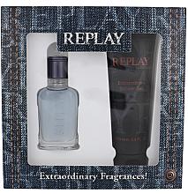 Düfte, Parfümerie und Kosmetik Replay Jeans Spirit! For Him - Duftset (Eau de Toilette 30ml + Duschgel 100ml)