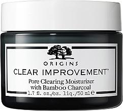 Düfte, Parfümerie und Kosmetik Feuchtigkeitsspendende Gesichtscreme gegen Akne und Mitesser mit Bambuskohle und 1% Salicylsäure - Origins Clear Improvement Pore Clearing Moisturizer With Bamboo Charcoal