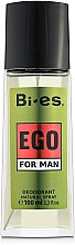 Düfte, Parfümerie und Kosmetik Bi-Es Ego - Parfum Deodorant Spray